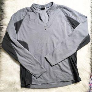 Spider 1/2 zip pullover / lightweight / large